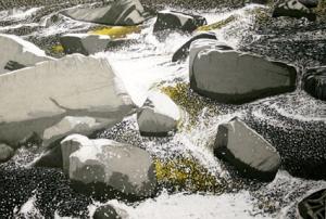 rocks-at-corra-linn-tasmania
